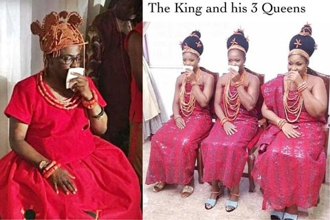 3 Wives Of Oba Of Benin, Eheneden Erediauwa (Photos) - Culture
