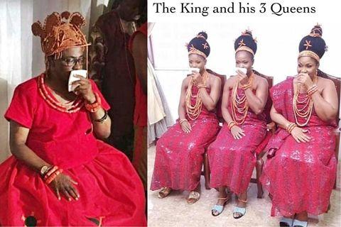 3 Wives Of Oba Of Benin, Eheneden Erediauwa (Photos