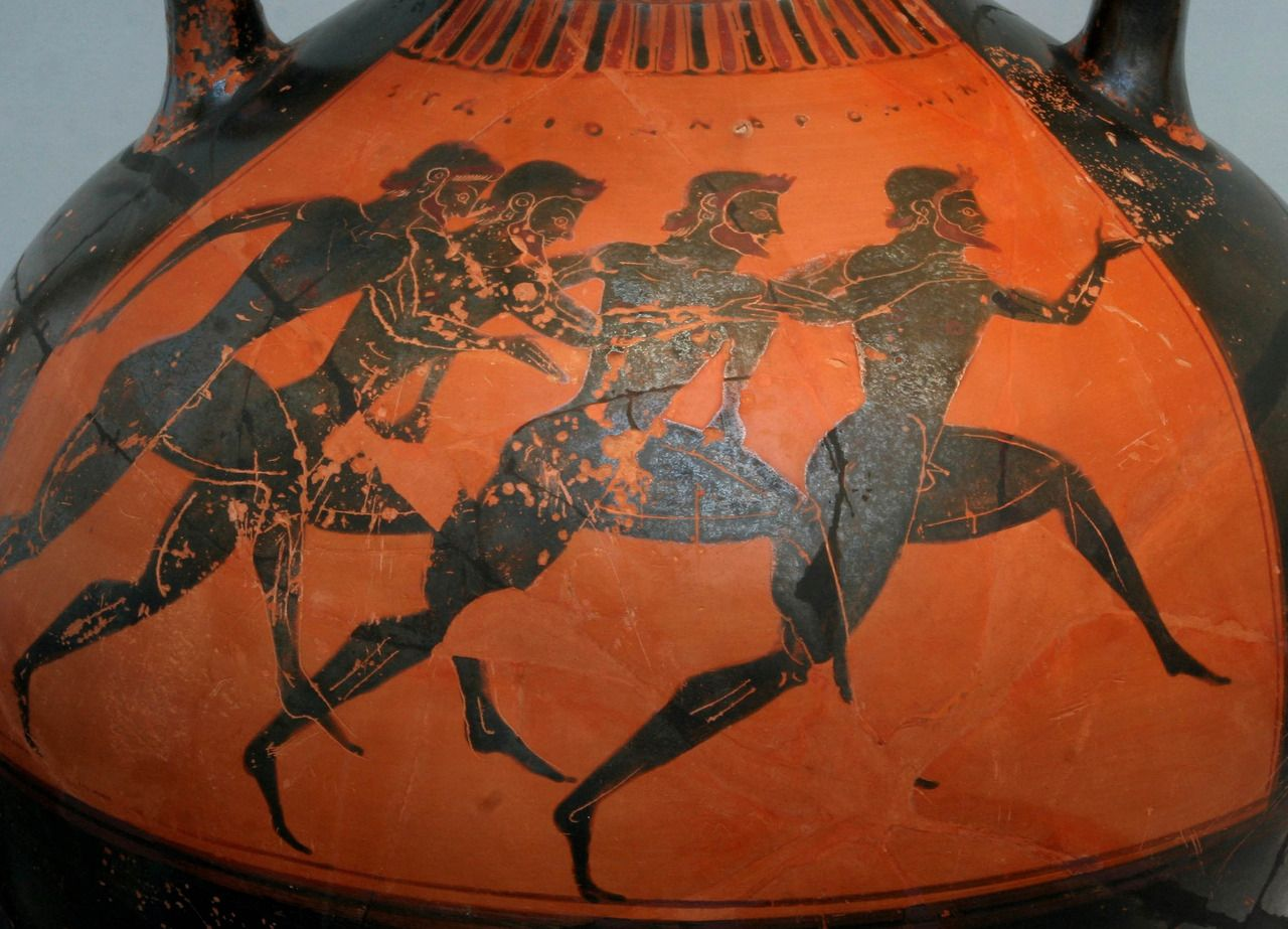 ancient bc the ancient greek olympic games were a the ancient greek olympic games were a series of competitions