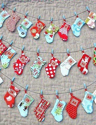 Homemade Advent Calendars Craft Ideas Pinterest Diy Advent