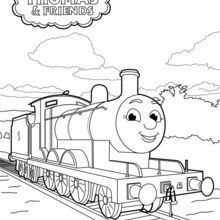 Tv Series Coloring Pages James Thomas Friends Coloring Pages James Thomas Cartoon Coloring Pages