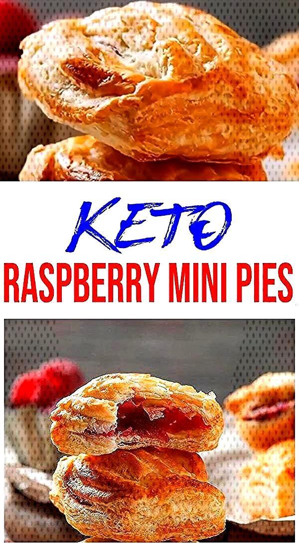 Tasty Keto mini raspberry pie you CAN NOT stop eating! Ketogenic diet - keto friendly low carb mini