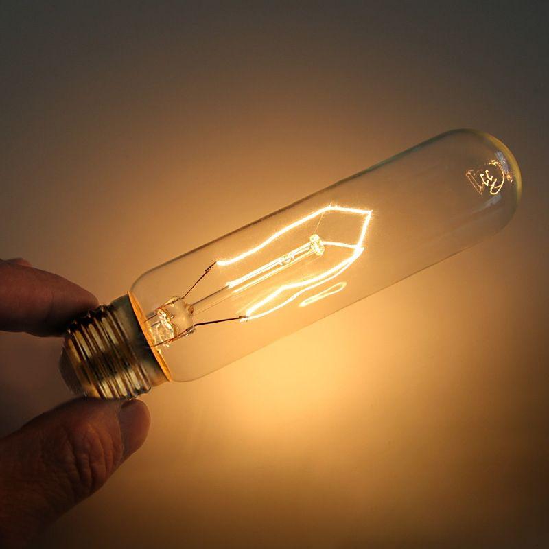 40w E26 Edison Bulb Short Electric Baton 110v Energy Saving Single Light Bulb In 2020 Energy Saving Light Bulbs Bulb Pendant Light Edison Bulb