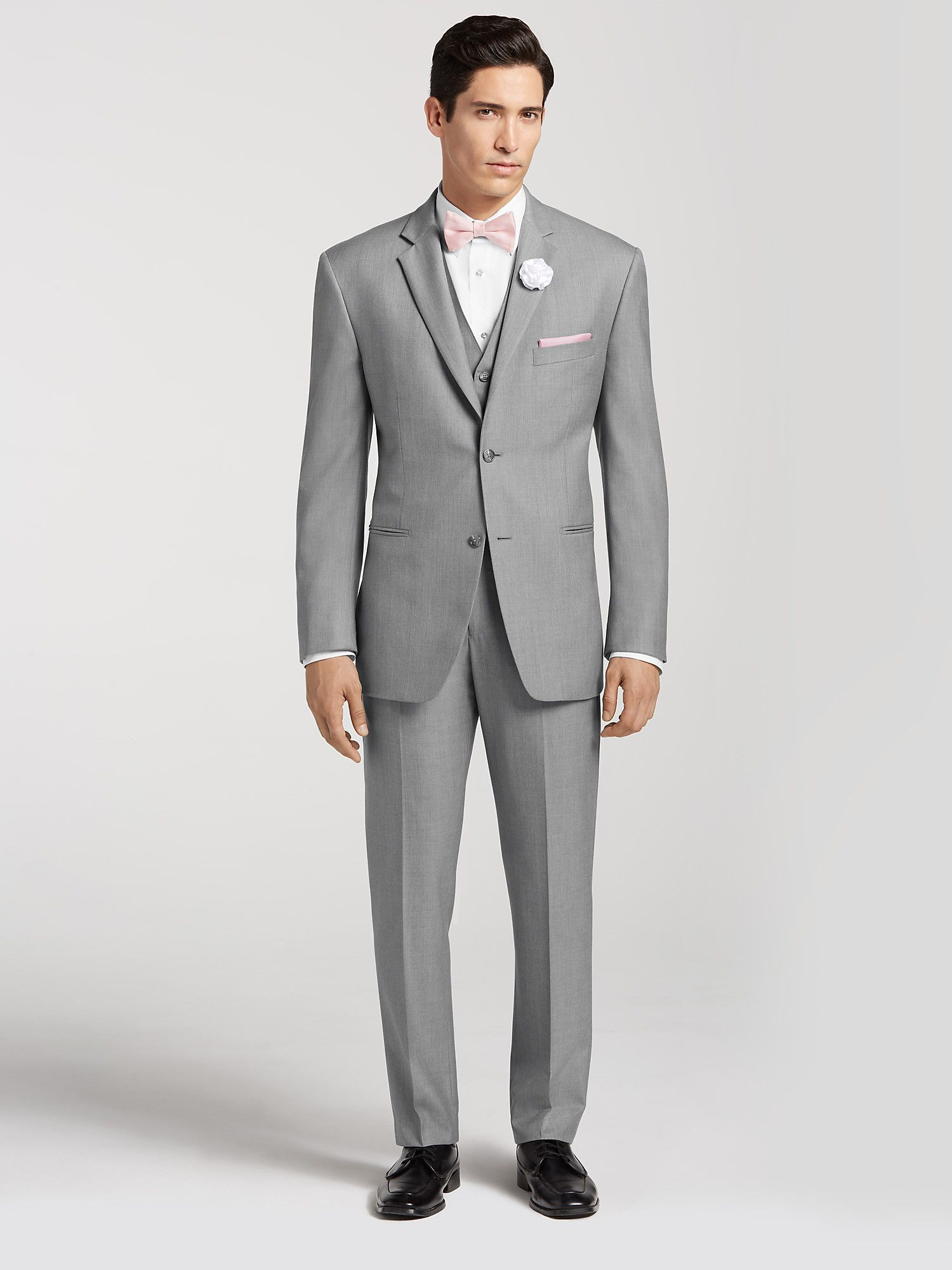 Generic Grey Suit By Men S Wearhouse For 157 Complete Outfit Vest Included