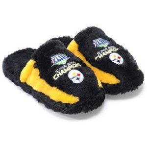 Pittsburgh Steelers Super Bowl Champions Slide Slippers (Misc.)   http://postteenageliving.com/amazon.php?p=B002A0IWNU