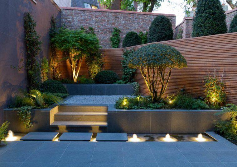 Bassin D Eau Et Deco De Jardin Moderne Garden Jardin Zen