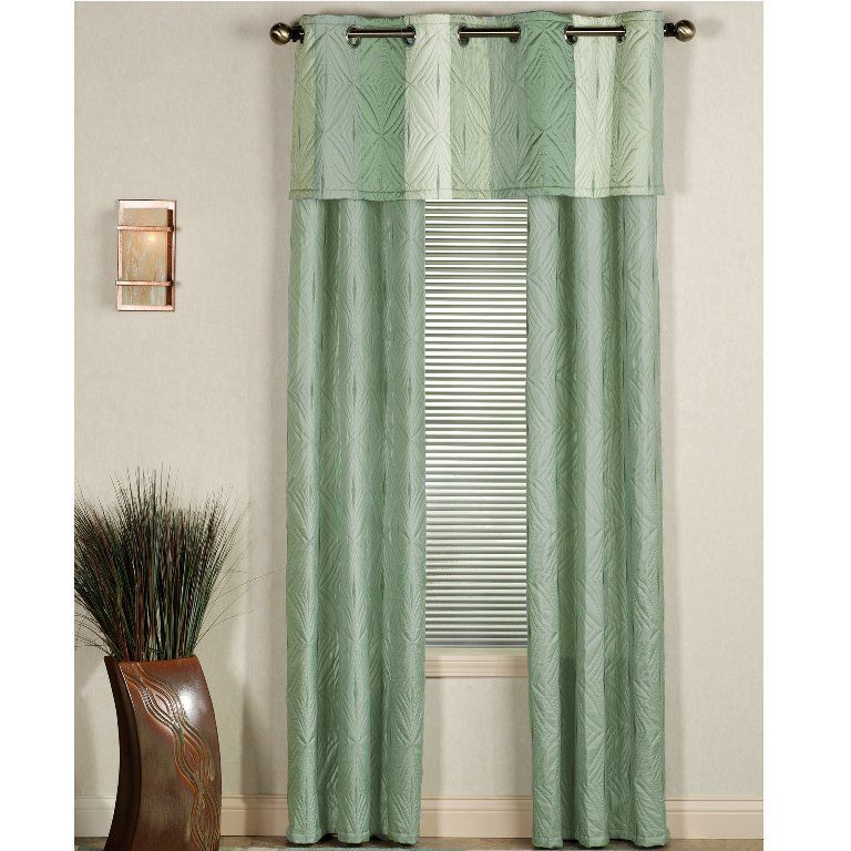 Grommet Curtains And Valance