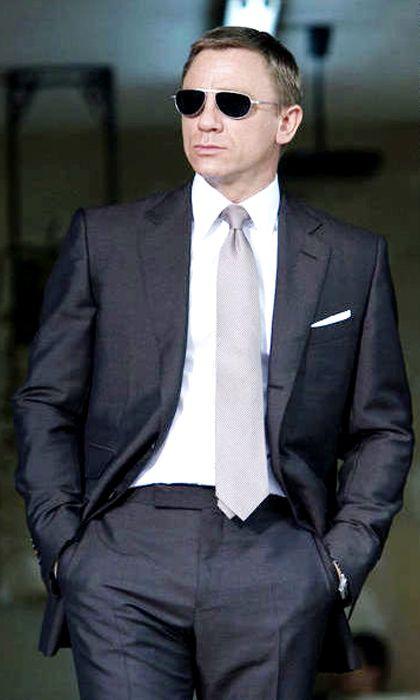 Quantum Of Solace Suit James Bond Suit Tom Ford Suit