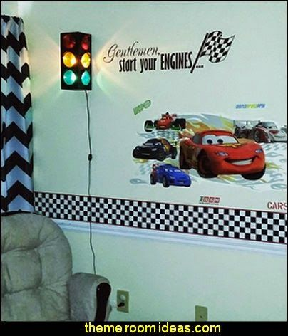 Traffic Light Lamps Boy Room Ideas Pinterest Car Bed Theme - Traffic light for bedroom