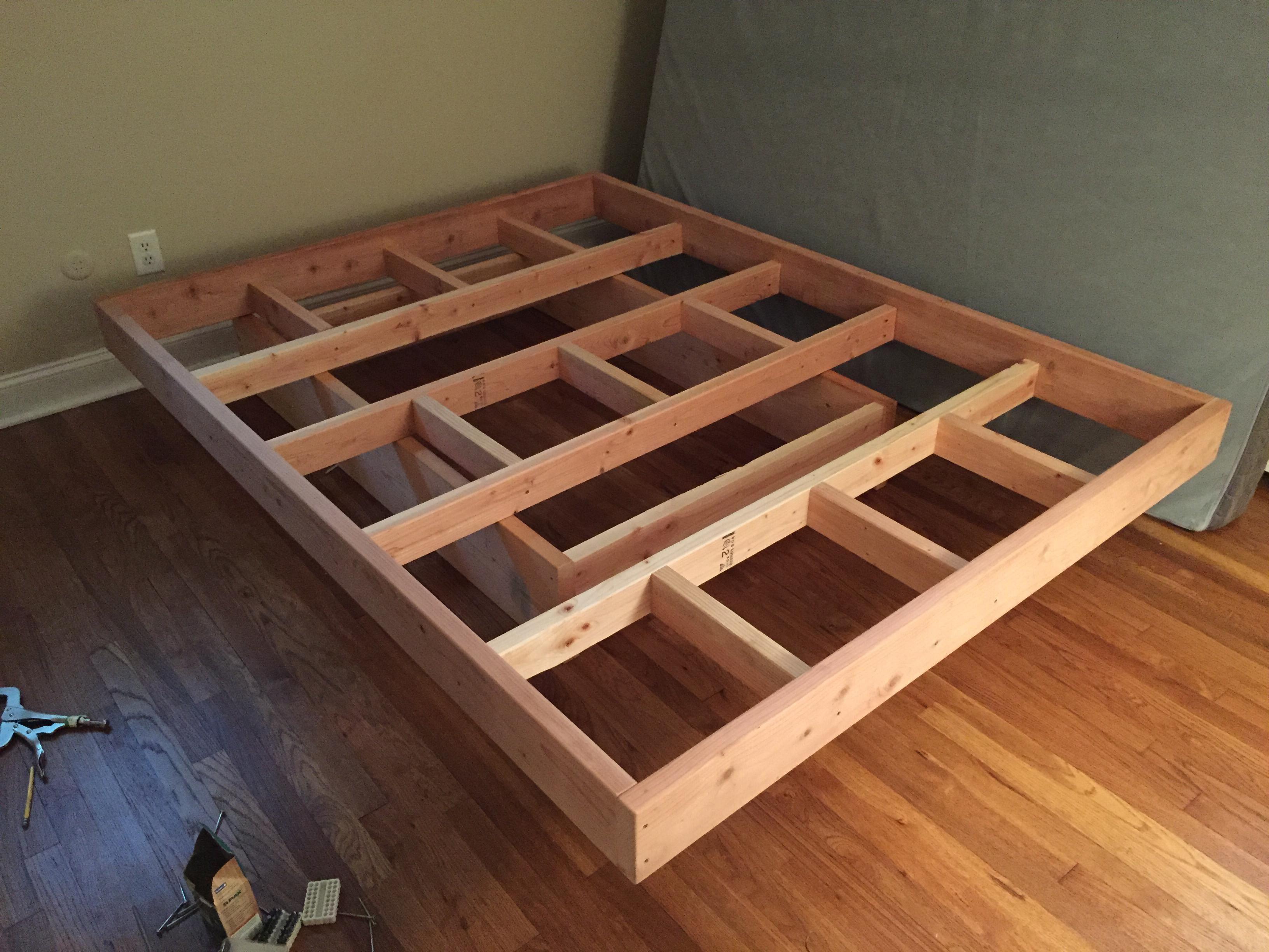 Floating Bed Floating Bed Frame Floating Bed Diy Bed Frame Plans