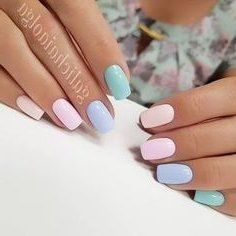 47 Most Eye Catching And Gorgeous Light Colour Nails Design With Different Colors For Beginner Nail Idea 47 Eყҽ Caƚ Chic Nail Art Chic Nails Pastel Nails