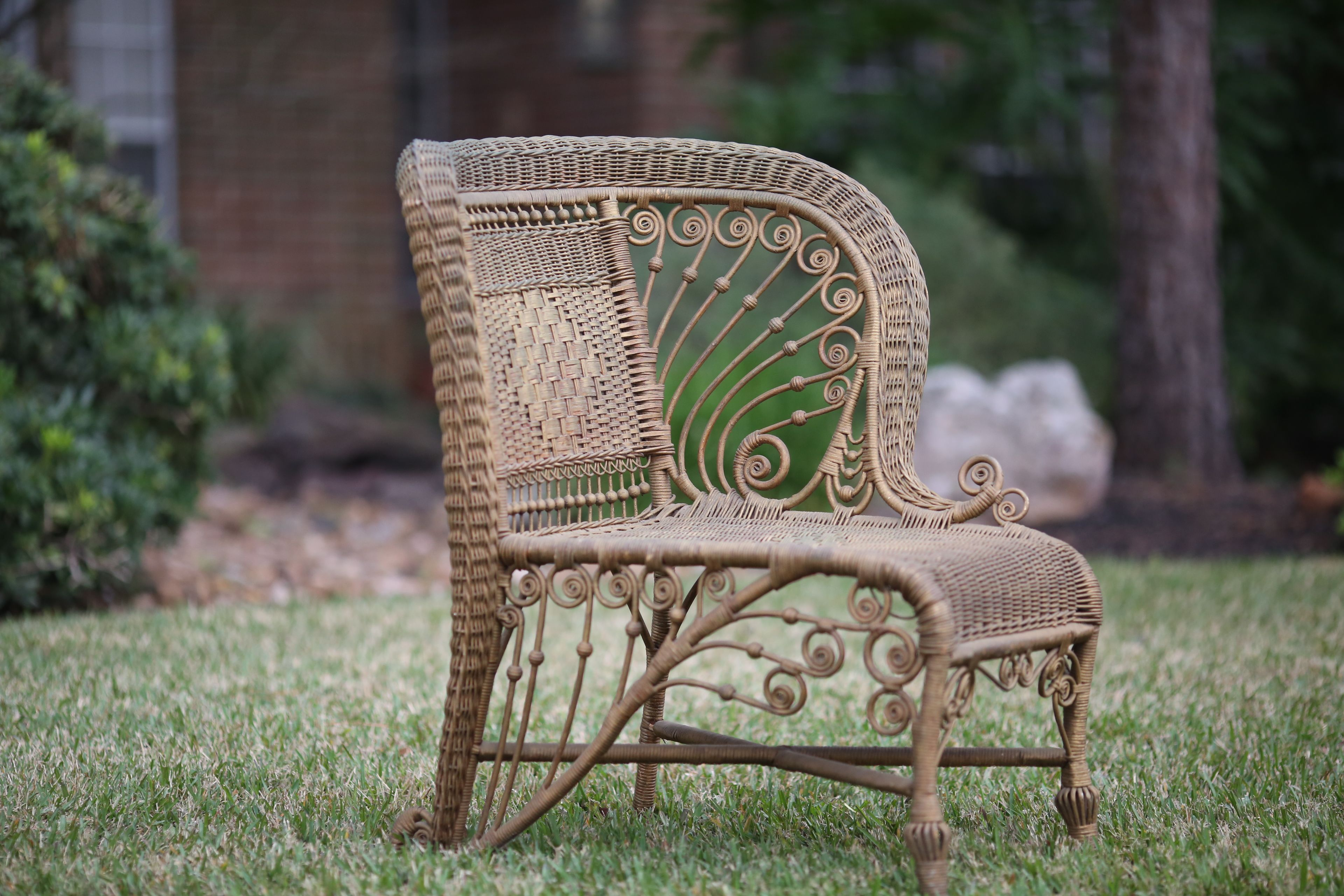 Rent Some Vintage Wicker Chair