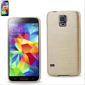 For-Samsung-Galaxy-S5-Slim-Shell-Impact-Skin-Soft-Jelly-Gel-Box-Case-Cover-Gold