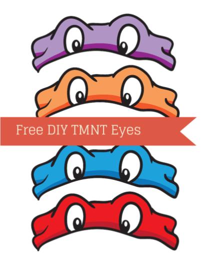Ninja Turtle Tmnt Eyes Ninja Turtle Birthday Ninja Turtles Birthday Party Teenage Mutant Ninja Turtle Birthday