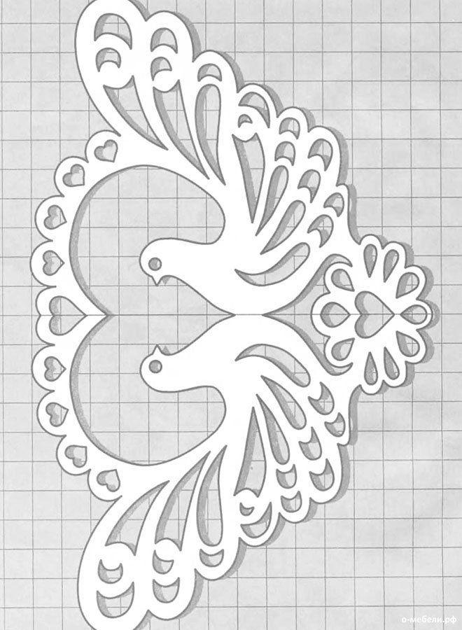 шаблоны чертежи рисунки схемы вырезания лобзиком