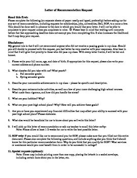 Letter of recommendation questionnaire teaching ideas to try in 14 letter of recommendation questionnaire spiritdancerdesigns Image collections