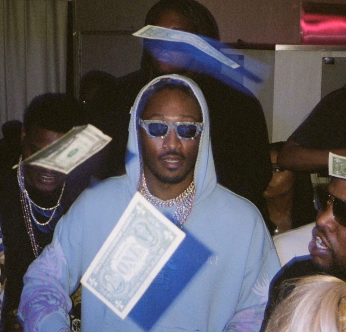 Blue Aesthetic Pictures Rappers