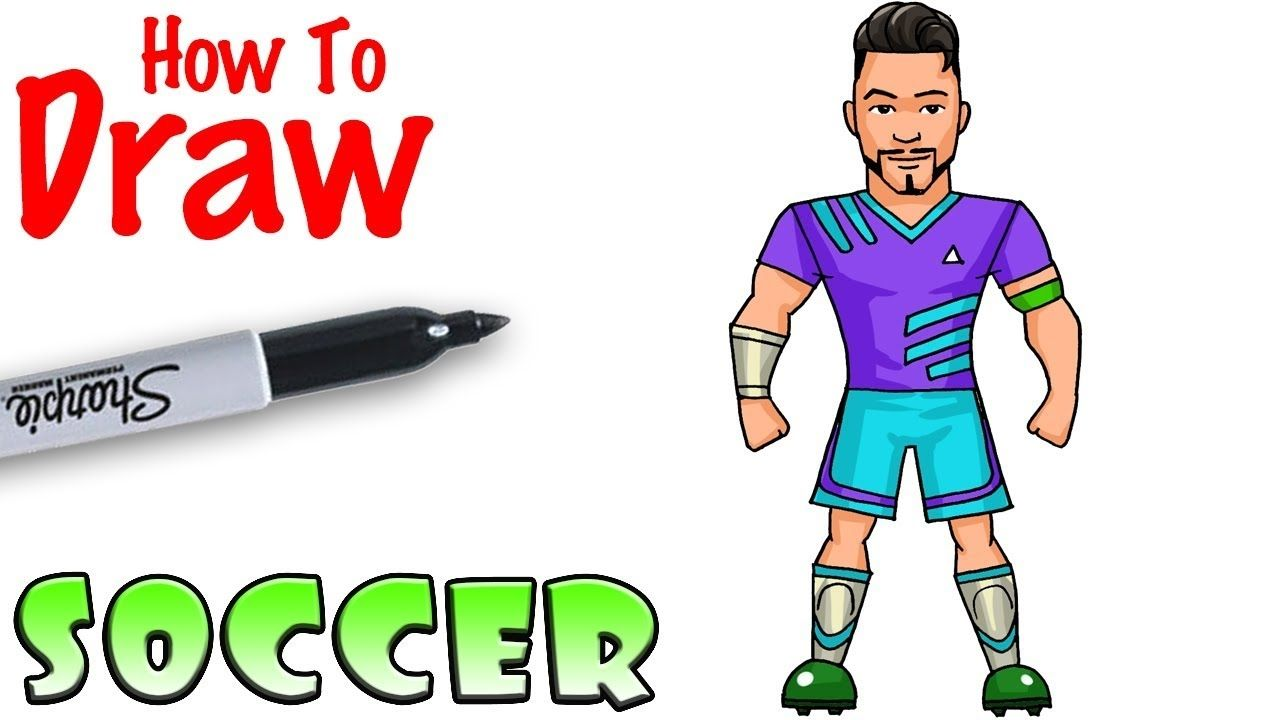 Zombie Soccer Player Fortnite Skin How To Draw Soccer Player Fortnite Youtube Di 2020