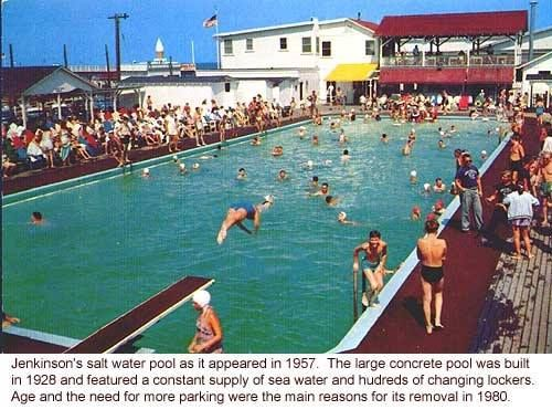 Jenkinson's Saltwater Pool ~ built in 1928  Age and need for