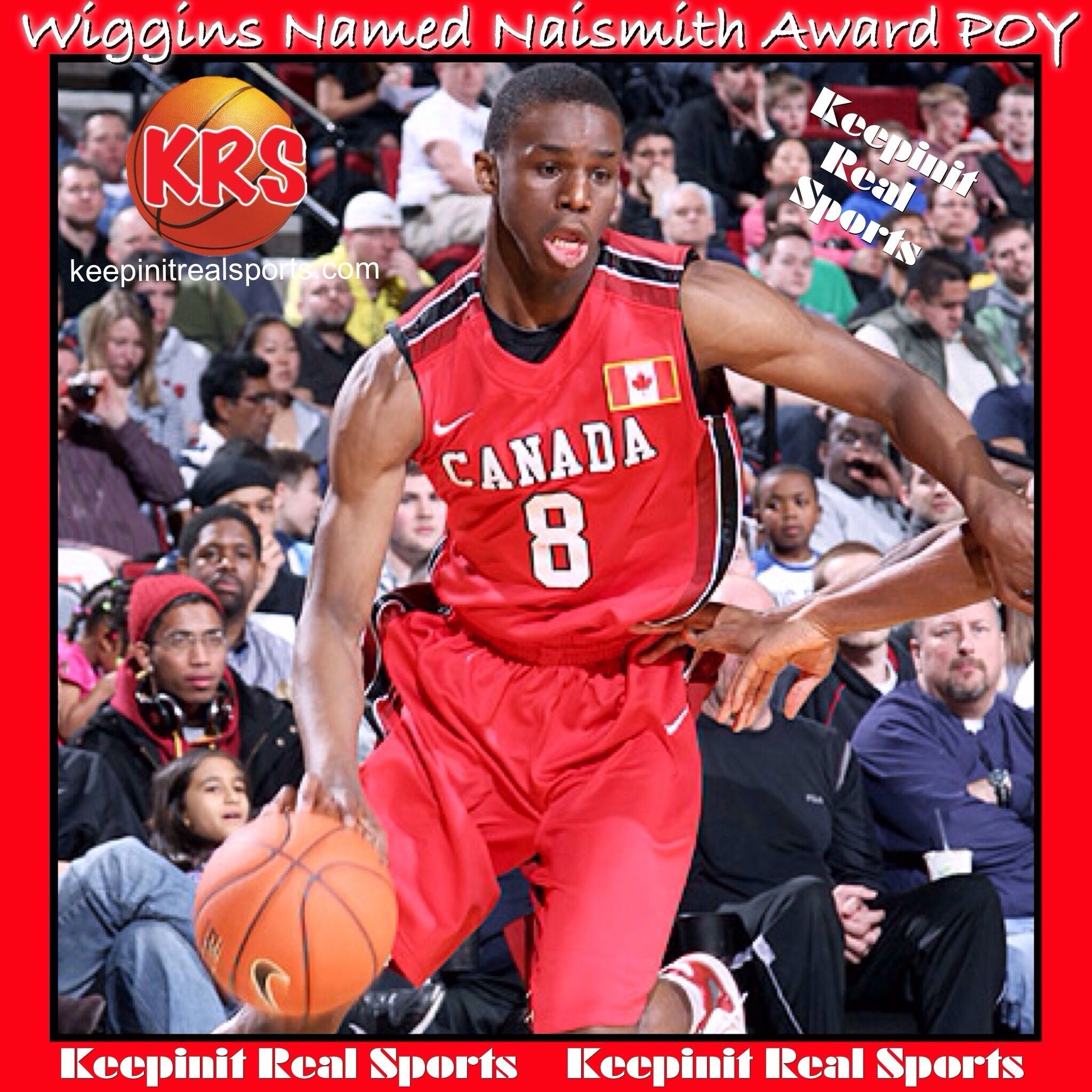 Keepinit Real High School News Andrew Wiggins Named
