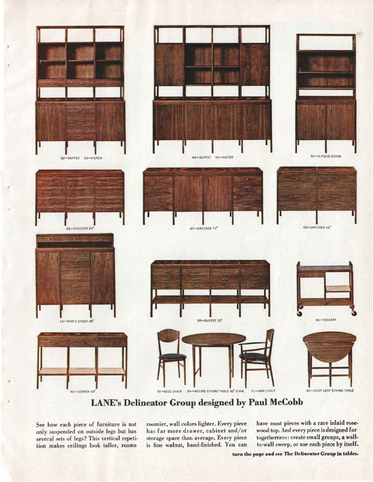 Image result for paul mccobb lane components | Furniture ...