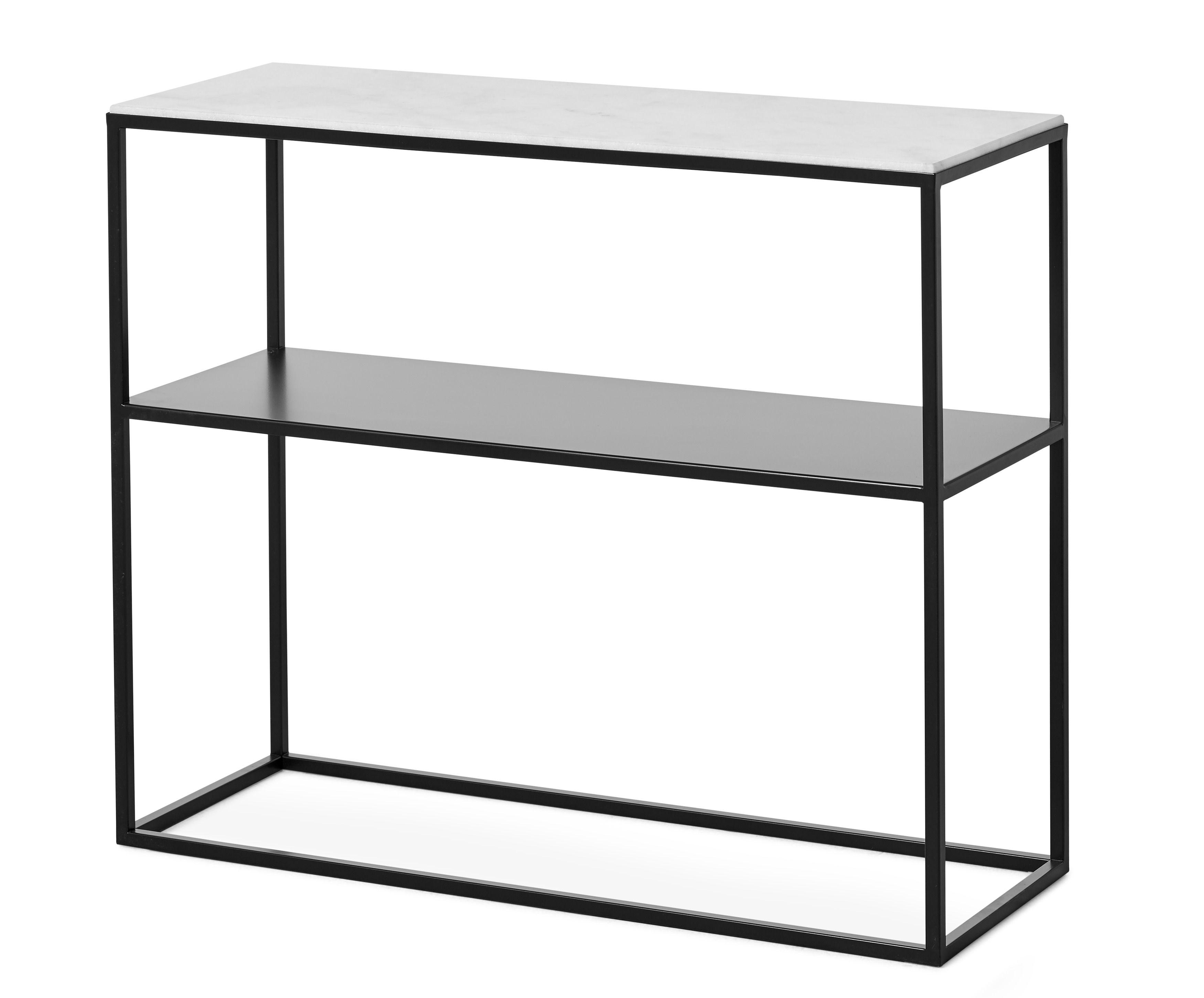 Ett elegant avlastningsbord med nätt och luftig design som blir ett vackert blickfång och en