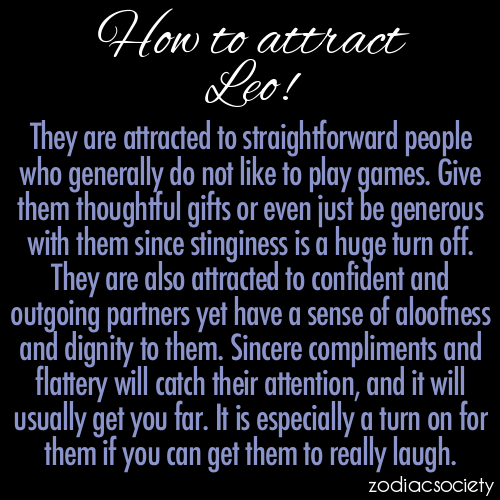 how to tell a leo man likes you