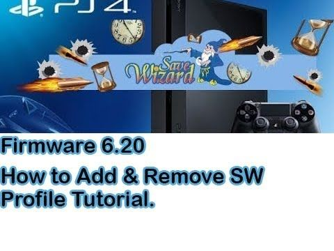 PS4 Save Wizard Tutorial How to Add and Remove Profile