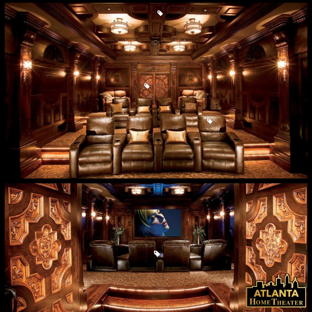 Home Theater Interiors Small Home Theater Room Design: Media Room Decor & Movie Theater Decor