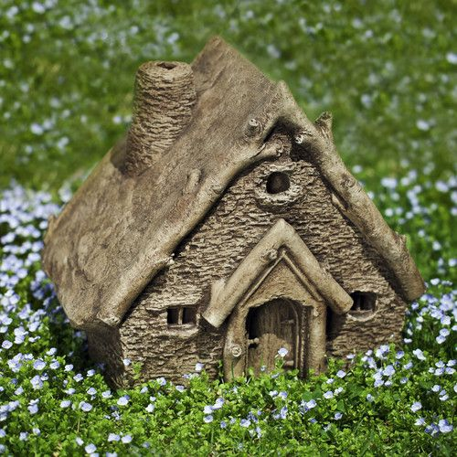 Found it at Wayfair - Gnome Cottage Statue  150 each