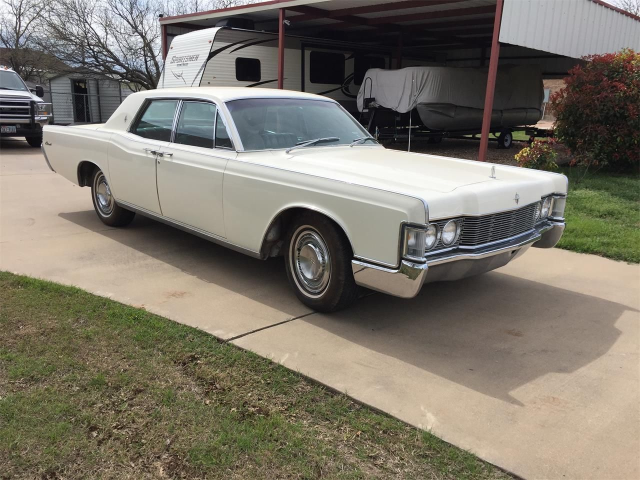 1968 Lincoln Continental In White Favorite Cars Lincoln