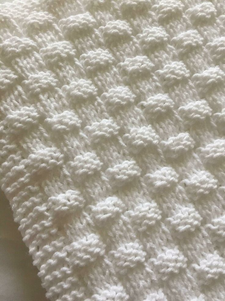 Photo of Quick and easy wicker baby blanket knitting pattern by Daisy Gray Knits | S …