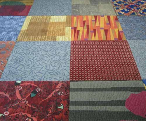 Patterned Carpet Tiles