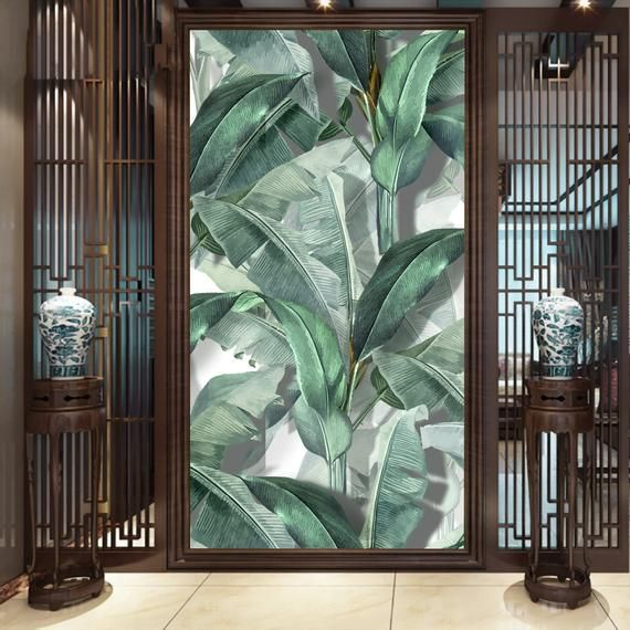Best Banana Leaf Wallpaper Tropical Leaves Wall Mural Leaf 640 x 480
