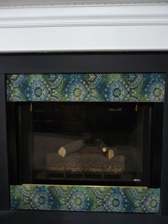Seal Off A Drafty Gas Fireplace Make Your Own Fireplace Vent Covers For Cheap Using Adhesive Magnet Paper And Fabric Fireplace Vent Fireplace Cover Fireplace
