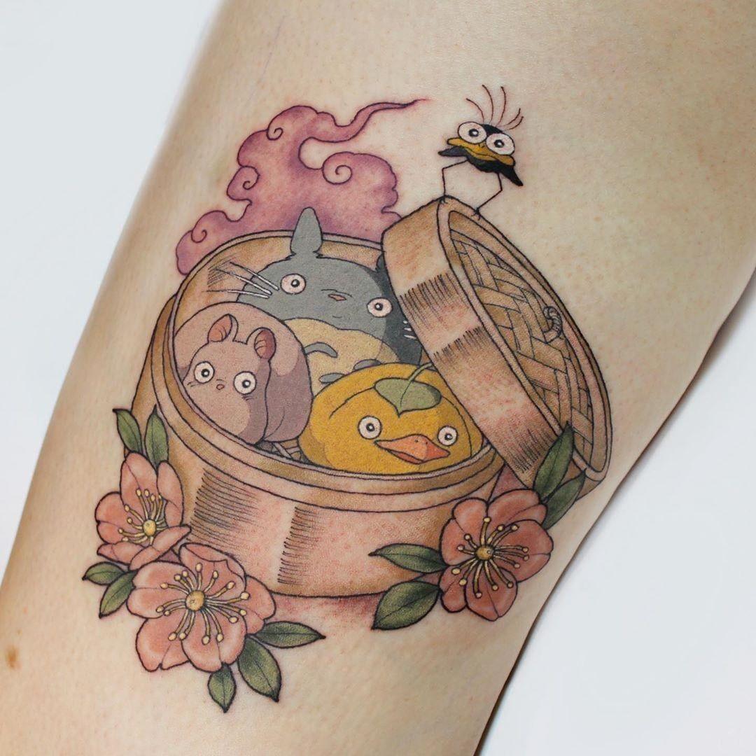 homer simpson tattoo intim