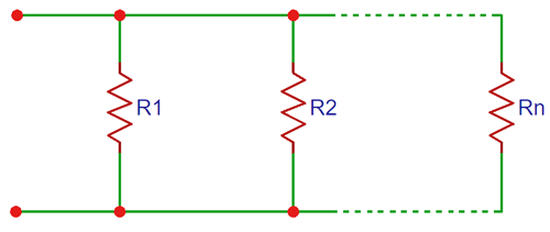 Resistors In Parallel Calculator Resistors Electronics Projects Electronics Circuit