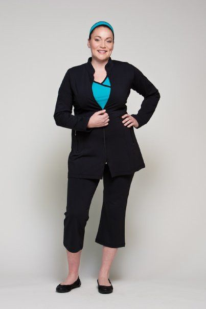 987056759e087 Plus sized Long Jacket at Loko Sport. Over 40 styles available up to size  22! Free shipping and SALE items.