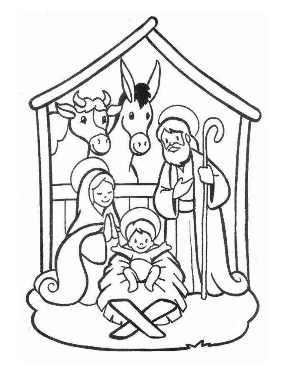 Dibujos navideños para colorear | Gabonak | Pinterest | Dibujos ...