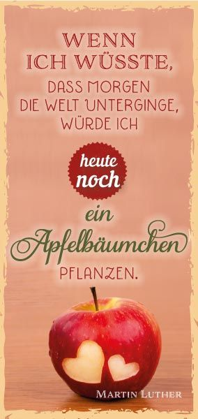 Luther Apfelbäumchen
