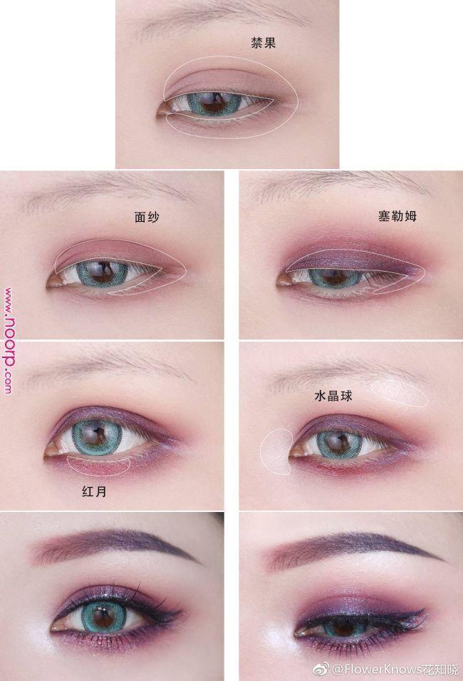 Koreanische Augen