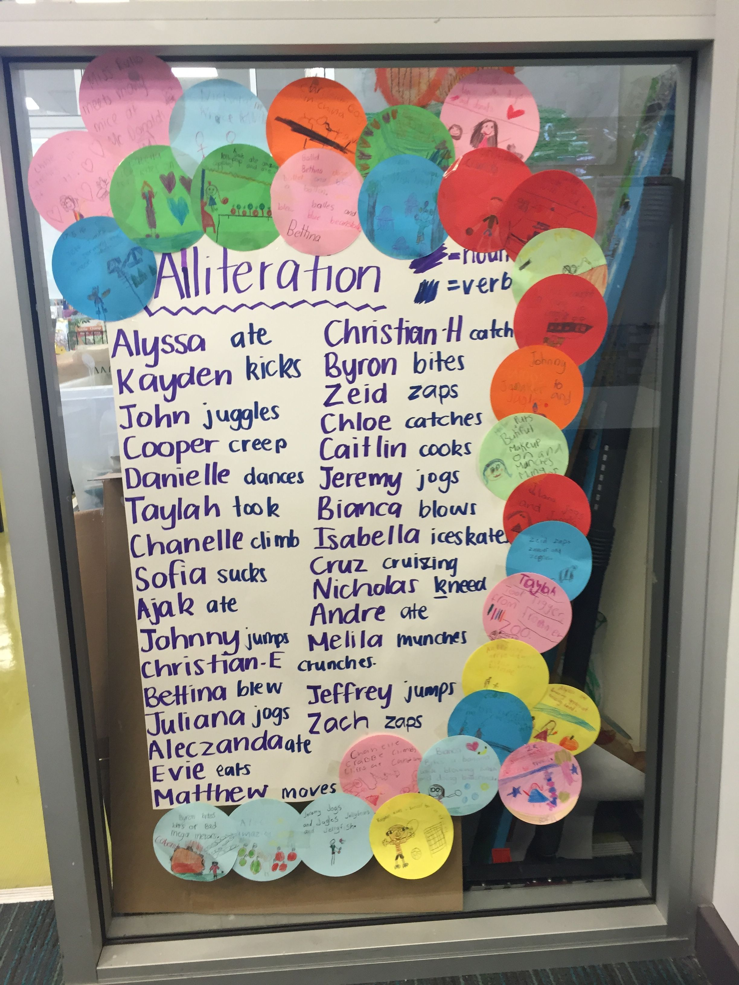 Alliteration Lesson That Incorporates Nouns And Verbs