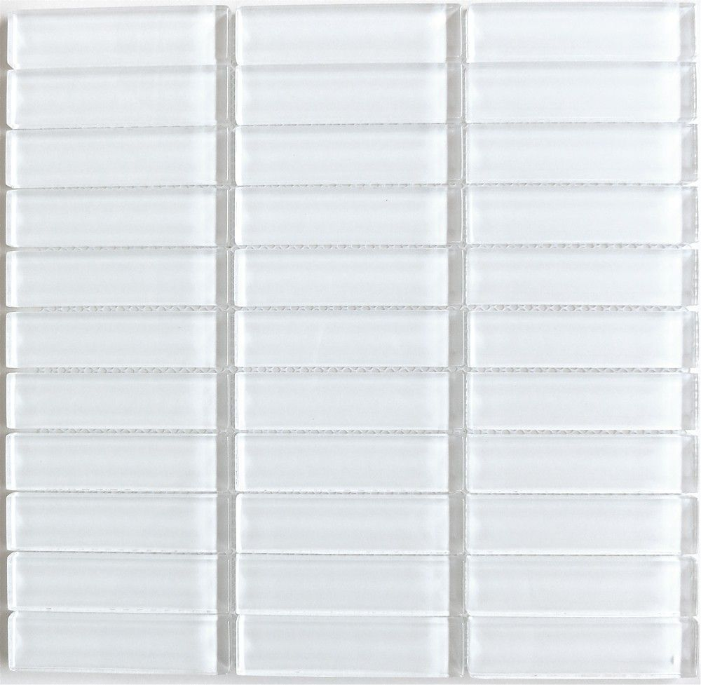 Clearance Lush Cloud - 1x4 Glass Subway Tile - Clearance -Lush 1x4 ...