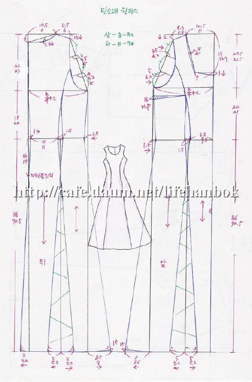 Pin von Ruth . auf SEW ME: DRESSES & GOWNS   Pinterest ...