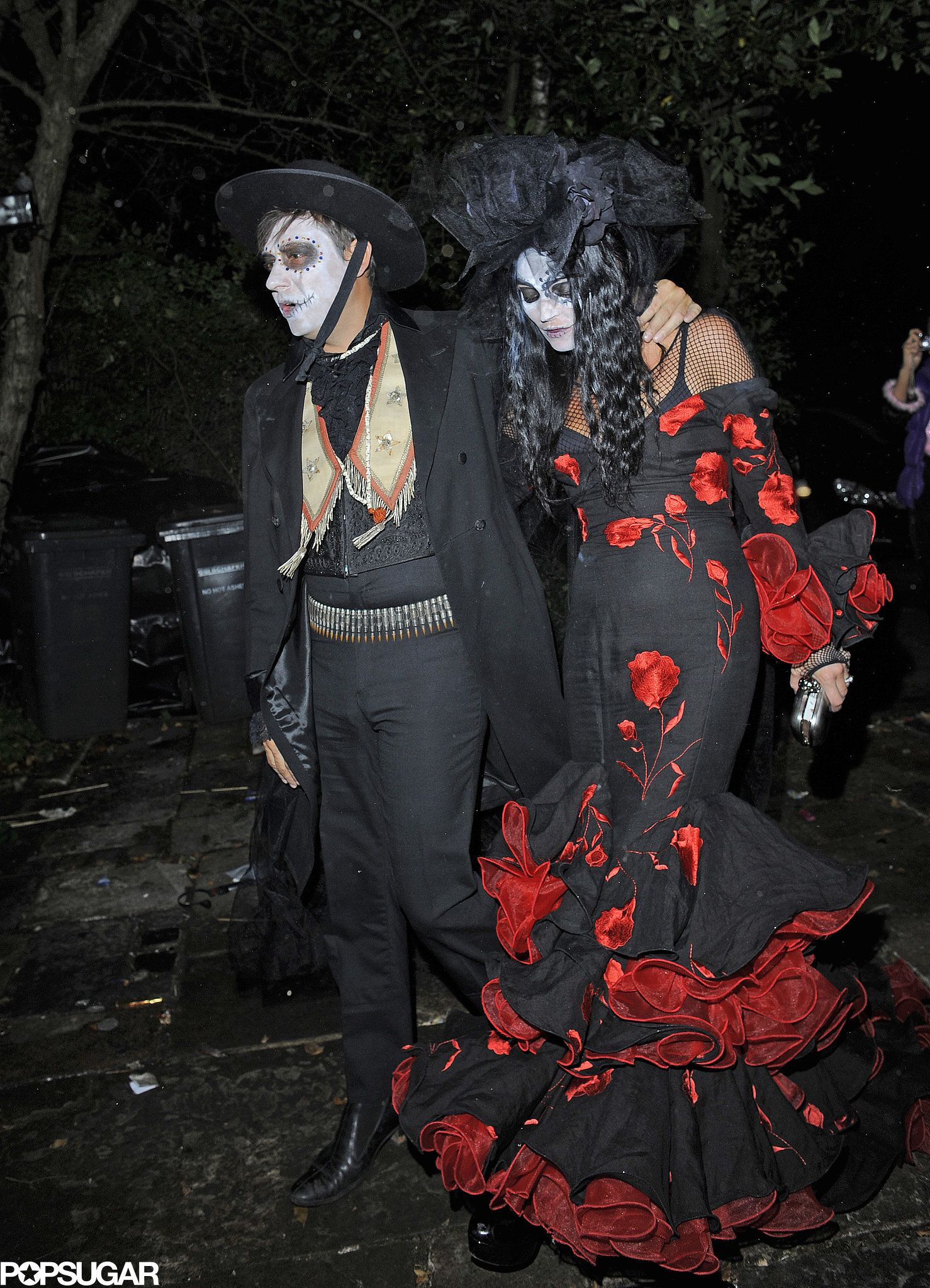 Kate Moss and Jamie Hince in Day of the Dead Costumes | Kate moss ...