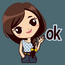 Alice in College Version sticker #6002768