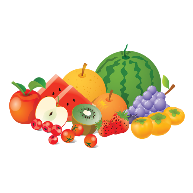 Fruit Collection Vector Png Fruits Element, Fruit
