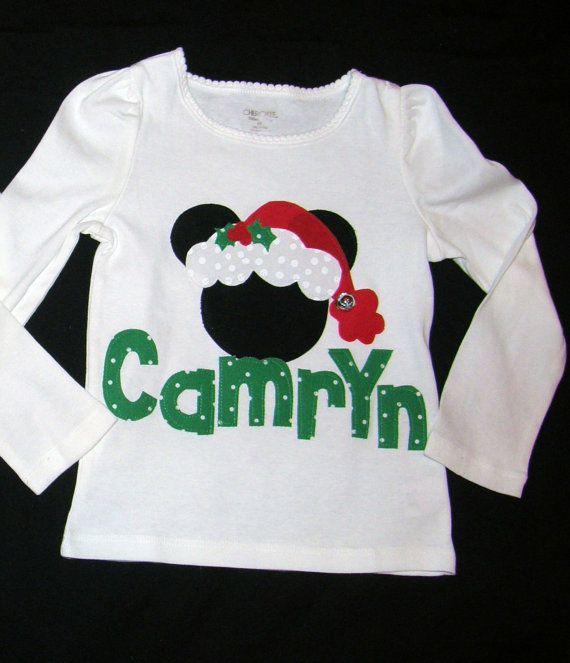 Jingle Bell Christmas Disney Baby Toddler Tween Adult