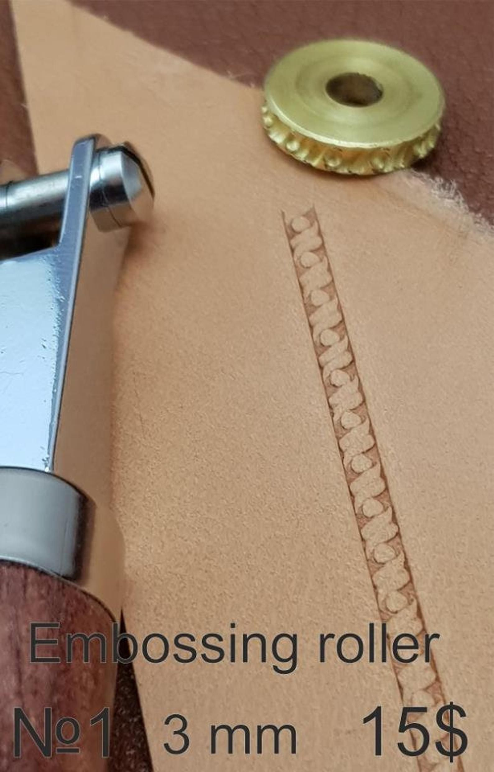 #Embossing roller-6 Tools for leather crafts