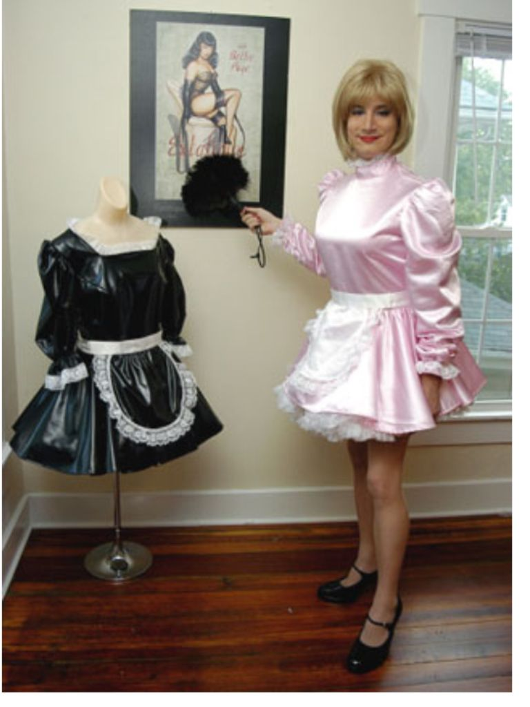 Transvestite dress pollyanna